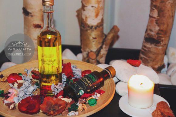 Kedrovo ulje- massage Belgrade