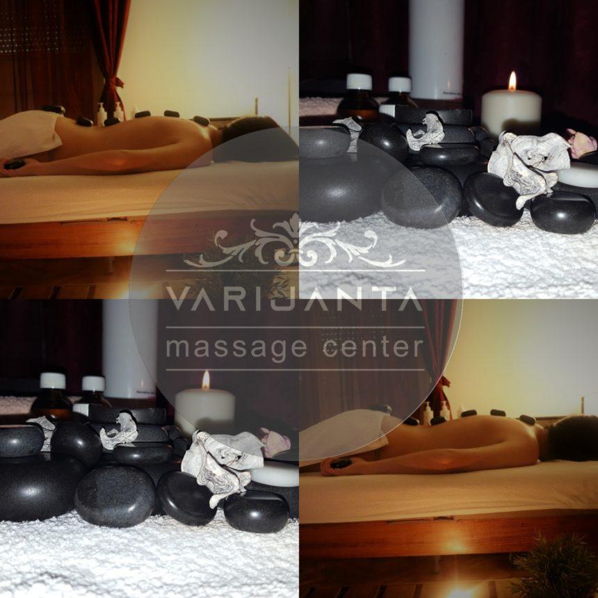 Snaga prirode uz vulkansko kamenje & Varijanta Massage center