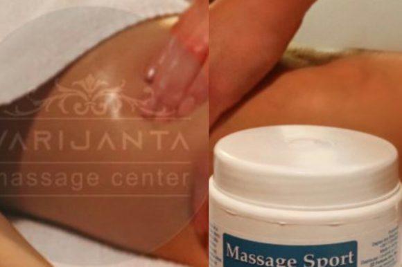 Principi sportske masaže & Varijanta Massage center