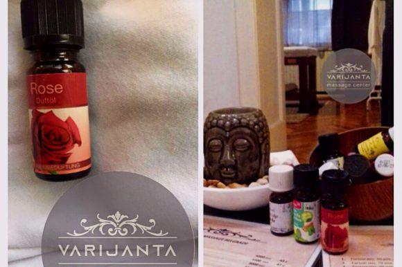 Eterično ulje ruže & Varijanta Massage center