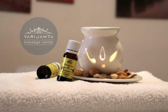 Eterično ulje ruzmarina & Varijanta Massage center