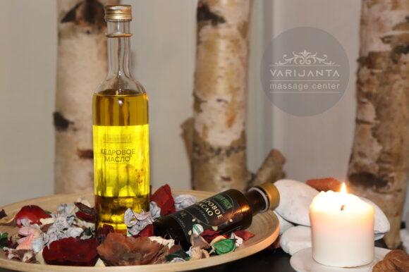Čarobno kedrovo ulje & Varijanta Massage center