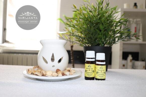 Aromaterapija i eterična ulja & Varijanta Massage center
