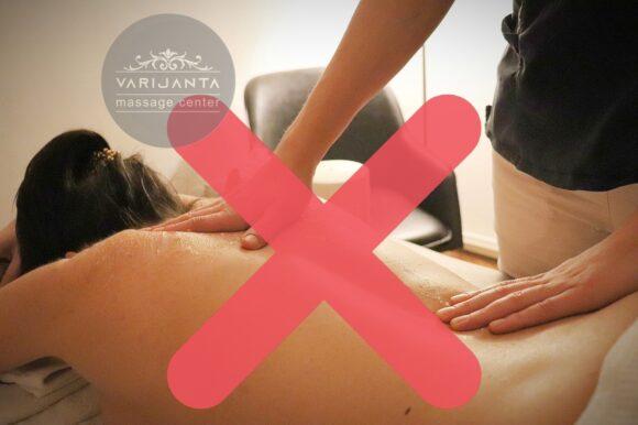 Kontraindikacije za masažu & Varijanta Massage center