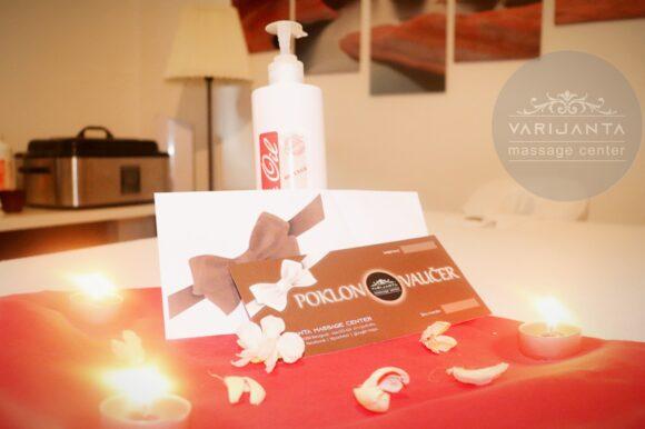 Originalni Varijanta poklon vaučer & Varijanta Massage center