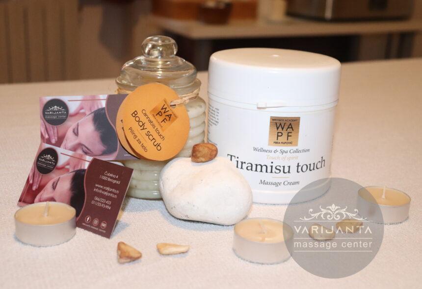 Efekat Tiramisu kreme & Varijanta Massage center