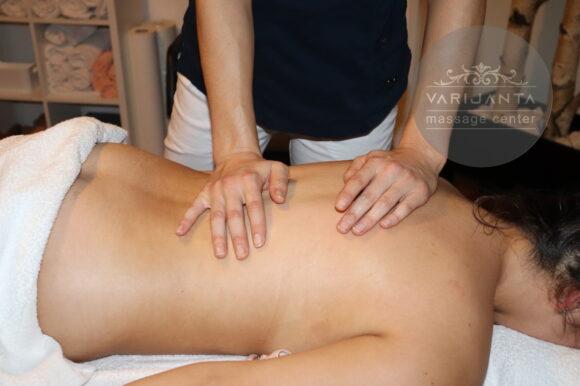 Dejstvo masaže na kožu & Varijanta Massage center