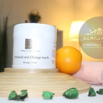 Dodir Patchouli and Orange kreme & Varijanta Massage center