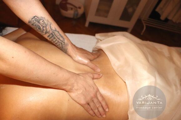 Masaža leđa & Varijanta Massage center