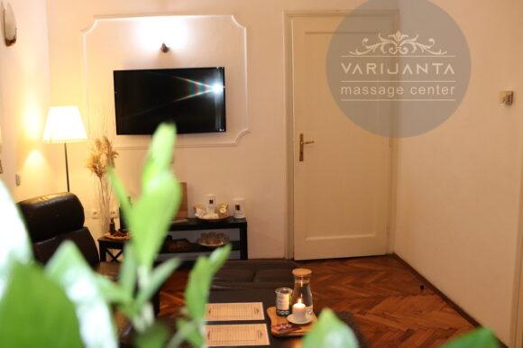 Naš prijemni deo & Varijanta Massage center